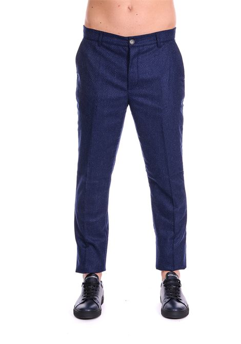 WOOL TROUSERS COMMUNE DE PARIS | Pants | GN6BLU