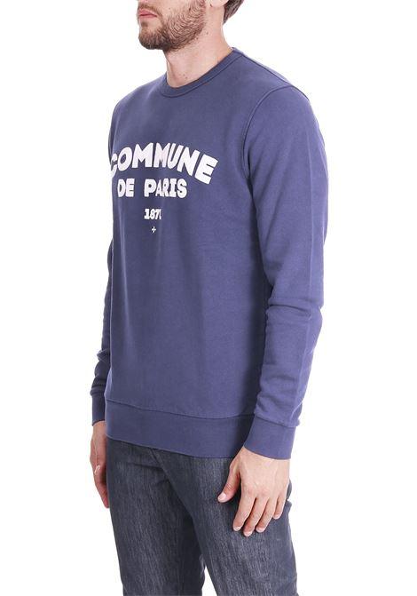FELPA CON RICAMO FRONTALE COMMUNE DE PARIS | Sweatshirts | SWEATICIBLU