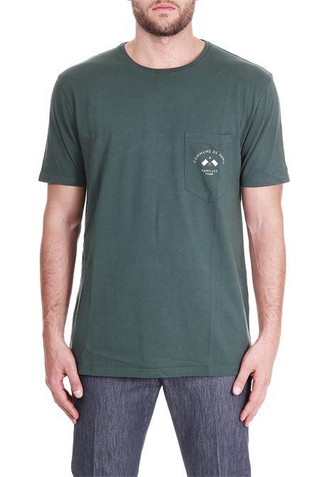 COTTON T-SHIRT COMMUNE DE PARIS | T-shirt | TEEFLAGVERDE