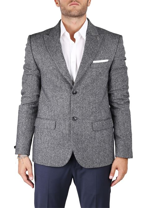 SINGLE-BREASTED WOOL MIXED JACKET DANIELE ALESSANDRINI | Jackets | G2879S147438061