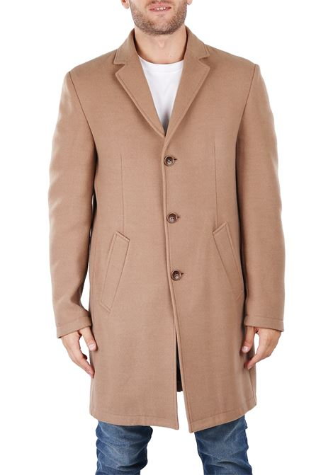 LONG MONOPETTO COAT DANIELE ALESSANDRINI | Coats | T444N787380620