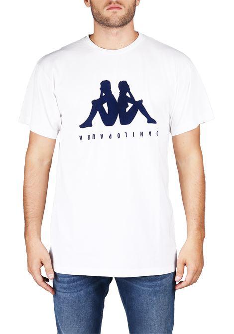 COTTON T-SHIRT DANILO PAURA X KAPPA DANILO PAURA | T-shirt | DPK1004SK04004100BIANCO