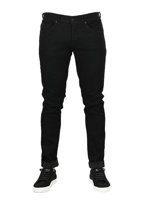 JEANS '' GEORGE '' BLACK DENIM DONDUP | Jeans | UP232DS0198A27NDUW18999