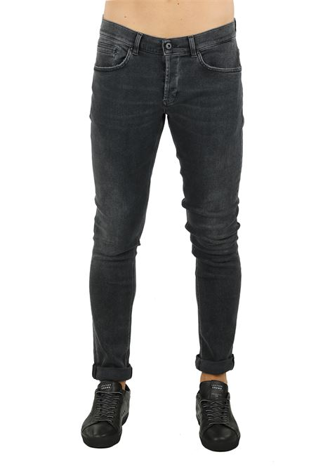 JEANS '' GEORGE '' IN BLACK DENIM DONDUP | Jeans | UP232DS0198T72NDUW18999