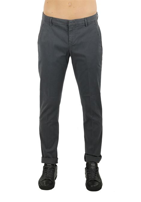 TROUSERS '' GAUBERT '' IN STRETCH COTTON DONDUP | Pants | UP235GS00369PTDDUW18997