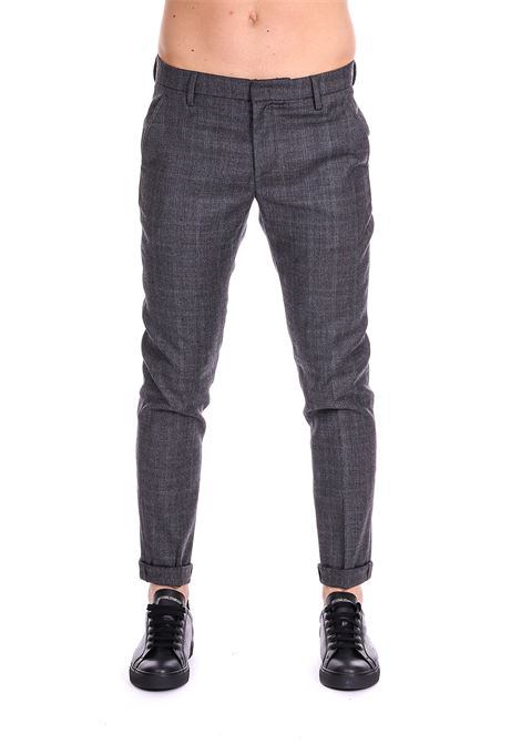 TARTAN TROUSERS DONDUP | Pants | UP235QS0087XXXDUW18998