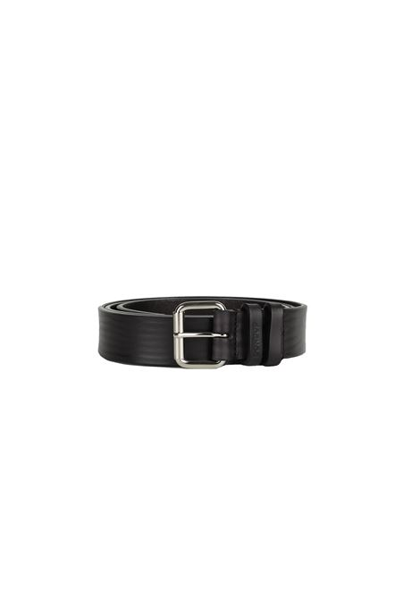 ROUGH LEATHER BELT DONDUP | Belts | XC103Y00354XXXDUW18999