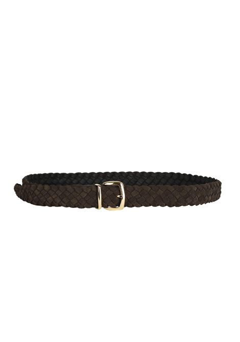 INTRECCIATO LEATHER BELT ELEVENTY | Belts | 979CI0090CIN2600305