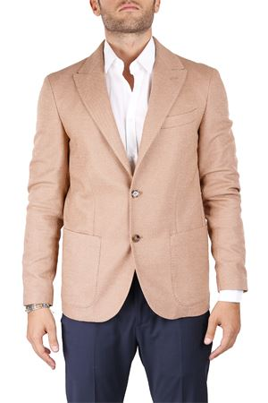 SINGLE-BREASTED WOOL AND COTTON JACKET ELEVENTY | Jackets | 979JA3155BTCRNJAC2605504