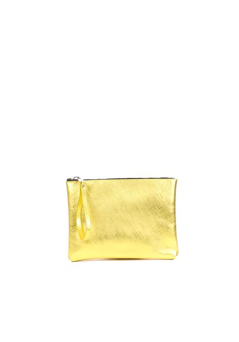 CLUTCH IN LAMINATED PVC GUM | Clutches | BSRAINBOWTRSPGIALLO