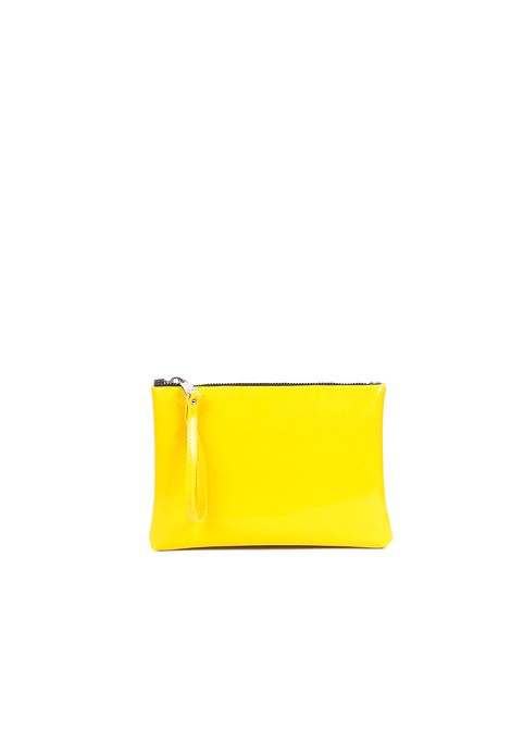 POCHETTE IN LATTICE LUCIDO GUM | Pochette | BSTARTANTRSPGIALLO