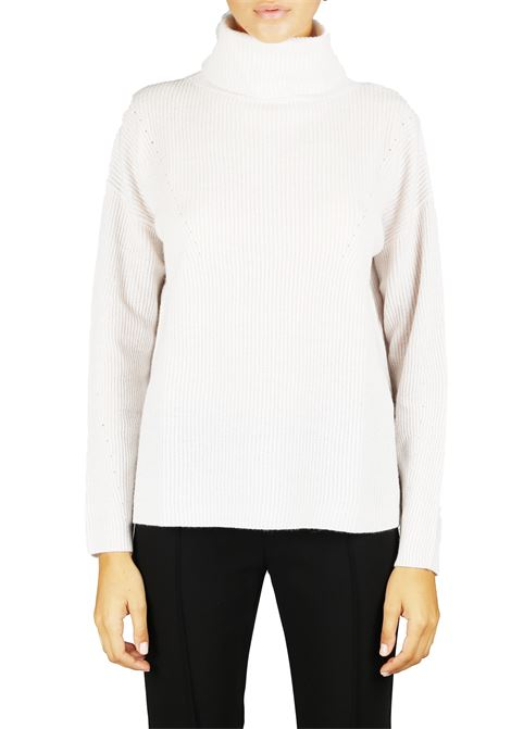 HIGH NECK SWEATER IN CASHMERE HEMISPHERE | Sweaters | HEW818213044130