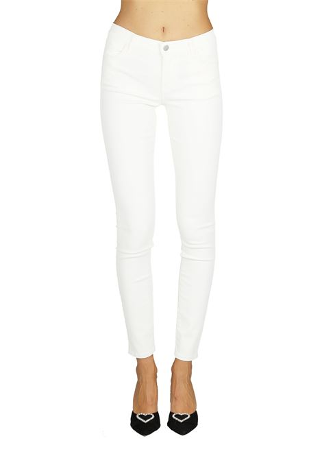 JEANS IN DENIM WHITE COATED J BRAND | Jeans | JB001685BIANCO