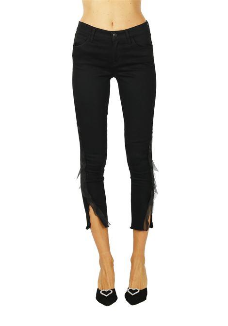 SKINNY JEANS '' MID-RISE '' IN BLACK DENIM J BRAND | Jeans | JB001724NERO