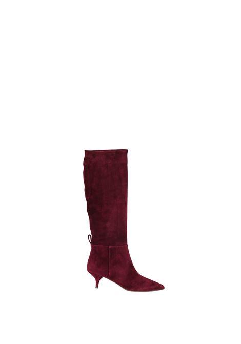 HIGH BOOT IN CROSTA L'AUTRE-CHOSE | Boots | LDH00150WP00034041BORDEAUX