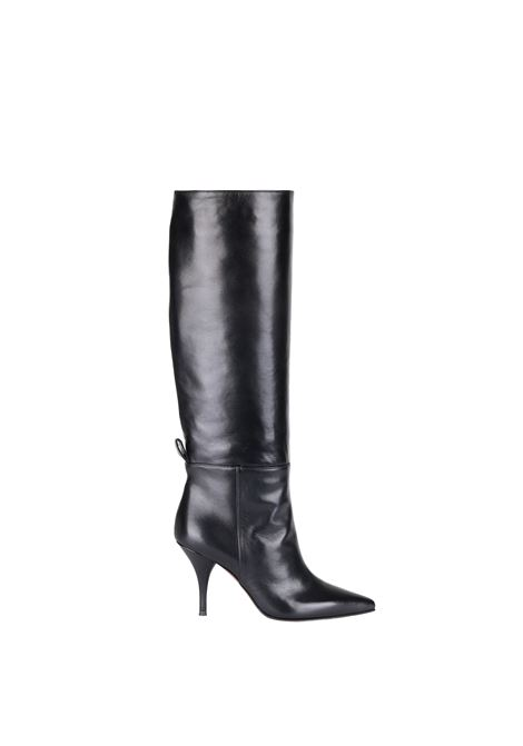 HIGH BOOT IN NAPPA L'AUTRE-CHOSE | Boots | LDH00185WP26151001BLACK