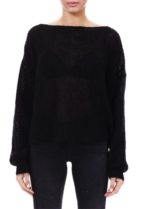 MOHAIR SWEATER L'EDITION | Sweaters | LE0645NERO