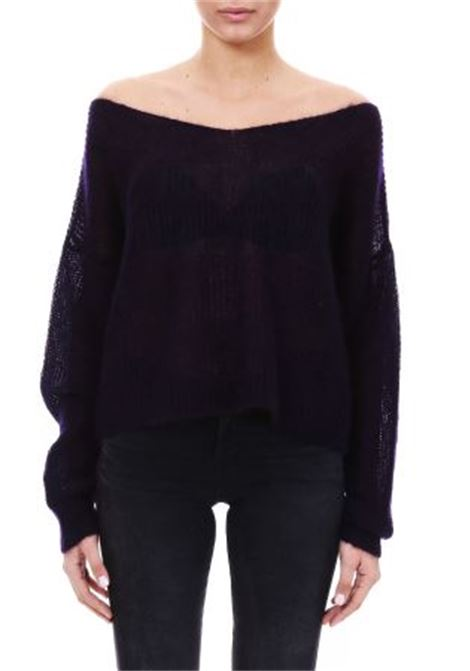 MOHAIR SWEATER L'EDITION | Sweaters | LE0645VIOLA