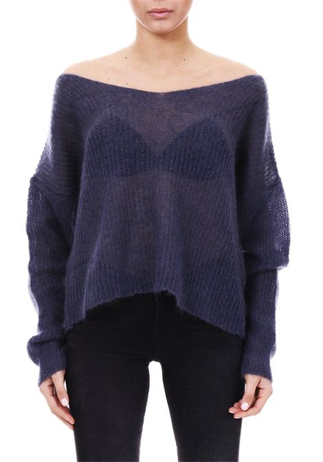 MOHAIR SWEATER L'EDITION | Sweaters | LE0646FUMO
