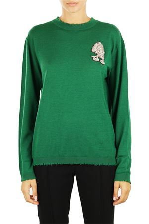 WOOL AND CASHMERE SWEATER L'EDITION | Sweaters | LE0759R60VERDE