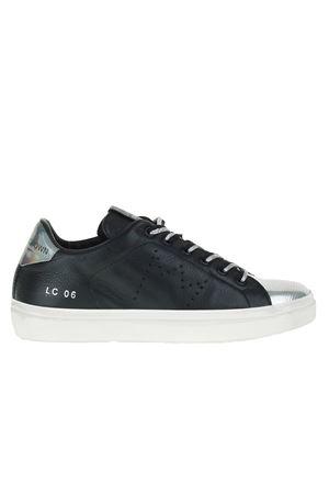 SNEAKERS IN PELLE LEATHER CROWN | Sneakers | WL106NERO