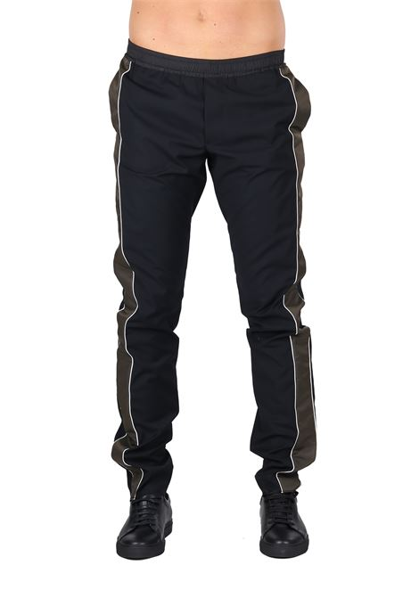 TROUSERS WITH CONTRAST SIDE BANDS LES HOMMES | Pants | URF456BUF400B9310