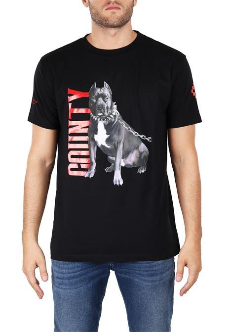 T-SHIRT IN JERSEY DI COTONE MARCELO BURLON | T-shirt | CMAA018F180010821088