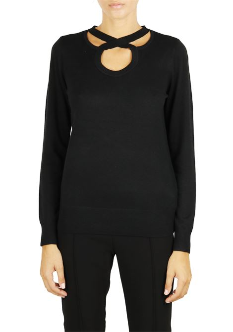 CASHMERE BLEND JERSEY MICHAEL DI MICHAEL KORS | Sweaters | MF86NS80WP001