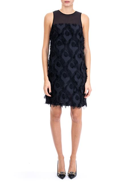 DRESS WITH FEATHER EMBROIDERY MICHAEL DI MICHAEL KORS | Dress | MF88YA79PB001