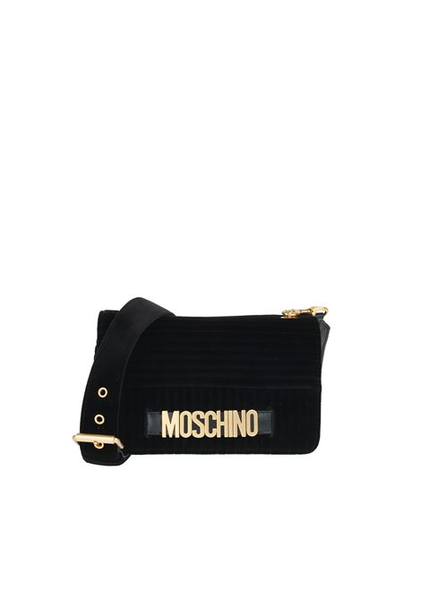 QUILTED VELVET BAG MOSCHINO | Bags | 74778211A1555
