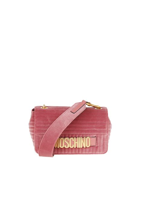 QUILTED VELVET BAG MOSCHINO | Bags | 74788211A1137