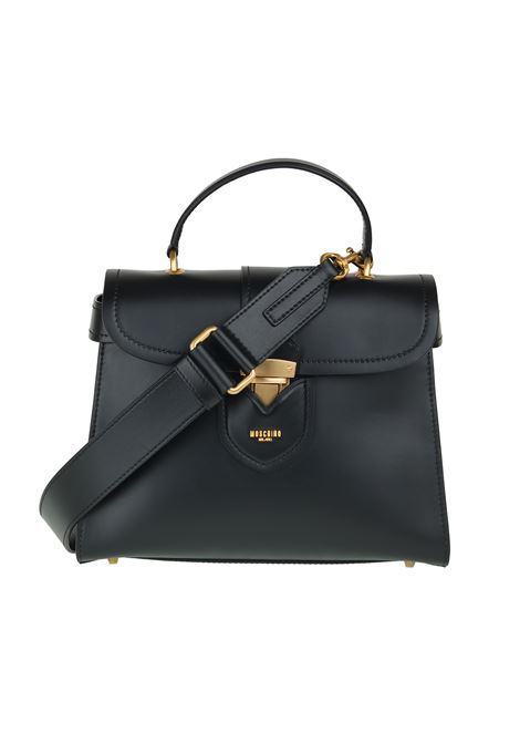 HIDDEN LOCK '' LEATHER BAG MOSCHINO | Bags | 75238004A1555