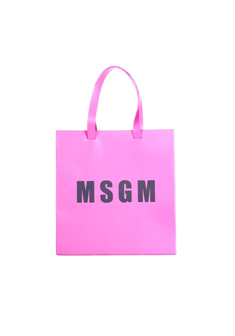 LEATHER SHOPPER MSGM MSGM | Bags | 2541MDZ55200