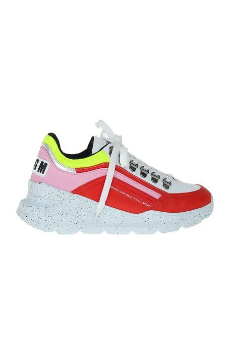 SNEAKERS IN PELLE MSGM | Sneakers | 2542MDS13030