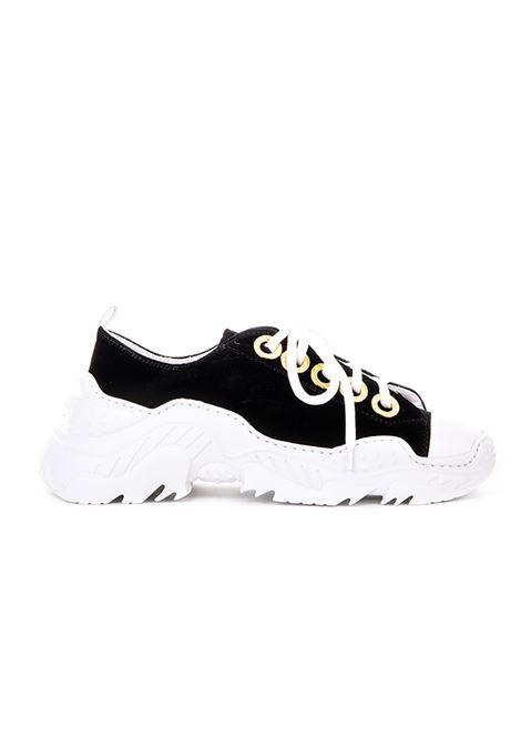 SNEAKERS IN VELLUTO NERO N°21 | Sneakers | 00118FPS0005N001