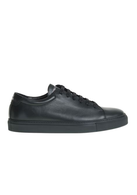 LEATHER AND VELVET SNEAKERS NATIONALSTANDARD | Sneakers | M0318F095