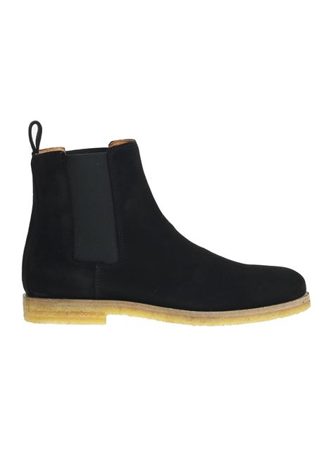 BLACK SUEDE BOOTS NATIONALSTANDARD | Mid-Calf | M1518F090