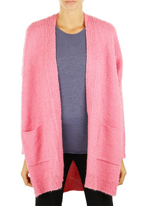 MAXI CARDIGAN IN WOOL AND ALPACA Nude | Cardigans | 110139688