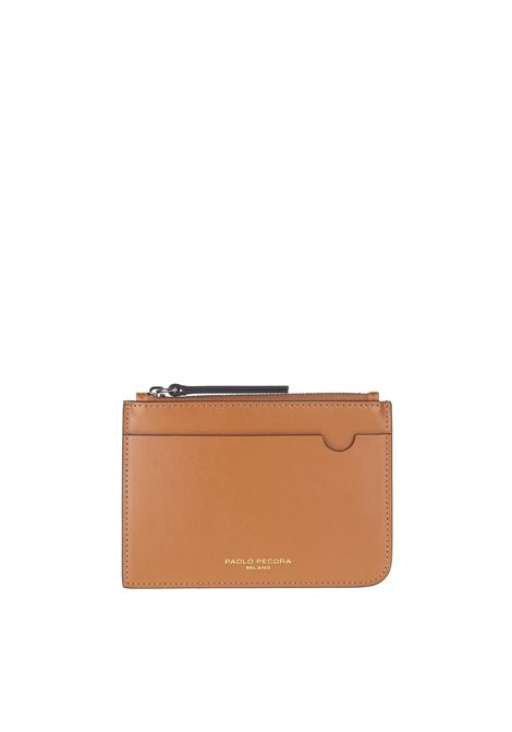 LEATHER WALLET PAOLO PECORA | Wallets | 7301T2031287