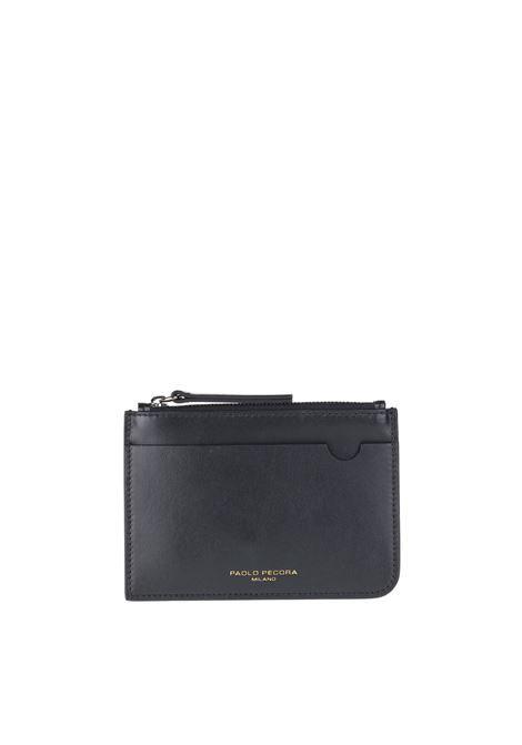 LEATHER WALLET PAOLO PECORA | Wallets | 7301T2039000