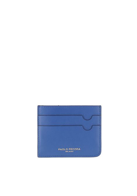 LEATHER CARD HOLDER PAOLO PECORA | Card Holder | 7302T2036746