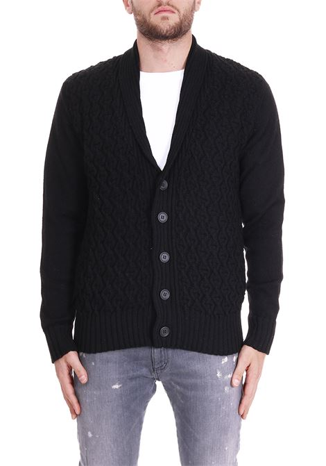 WOOL CARDIGAN PAOLO PECORA | Cardigans | A06970139000
