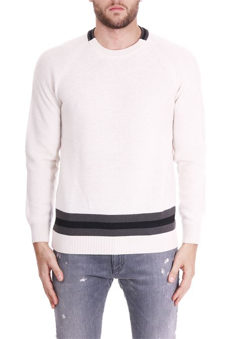 WOOL SWEATER PAOLO PECORA | Sweaters | A07470101342