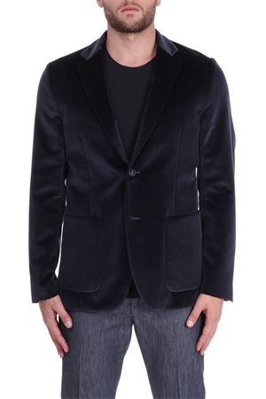 SMOOTH VELVET JACKET PAOLO PECORA | Jackets | L01305486462