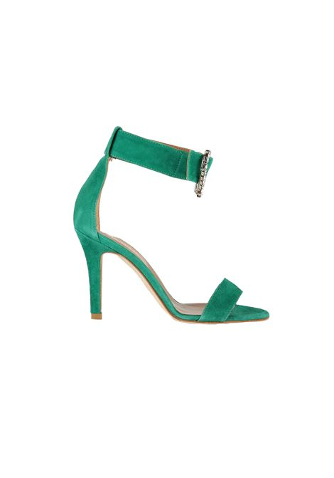 SANDALS IN SUEDE PARIS TEXAS | Sandals | PX104CVERDE