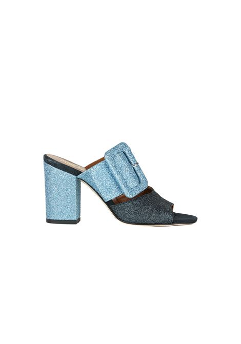 SABOT GLITTER PARIS TEXAS | Sandals | PX108GBLU