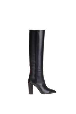 HIGH BOOT IN NAPPA PARIS TEXAS | Boots | PX120NAPPANERO