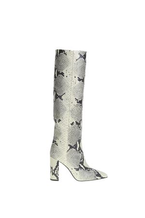 PYTHON PRINTED LEATHER BOOTS PARIS TEXAS | Boots | PX120PPITONATO