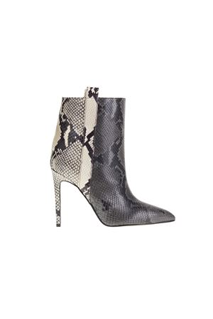 BICOLOR LEATHER ANKLE BOOTS PARIS TEXAS | Ankle Boots | PX123PBGRIGIO