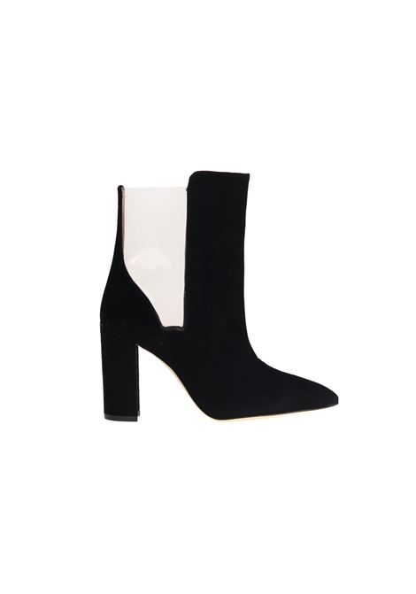 BLACK SUEDE ANKLE BOOTS PARIS TEXAS | Ankle Boots | PX131NERO